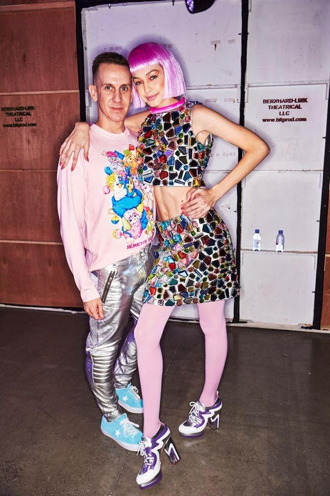 Gigi Hadid & Jeremy Scott
