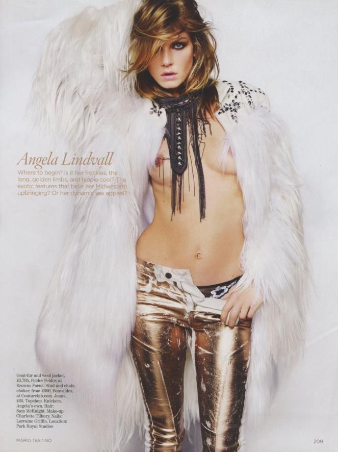 Angela Lindvall Nude Photos 65