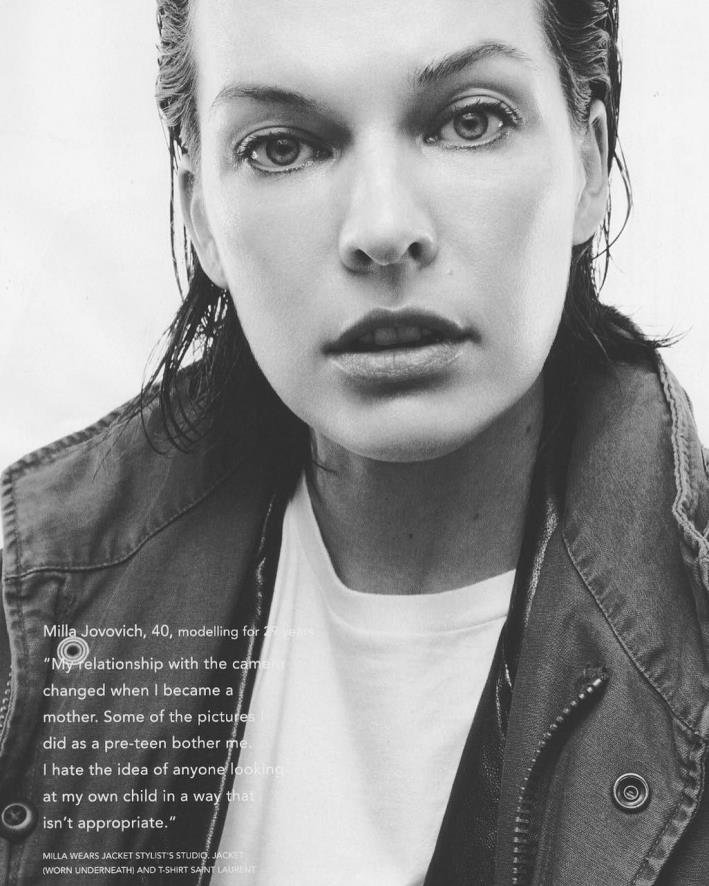 All does Milla jovovich when she was young apologise, but